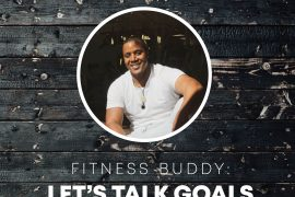 Fitness Buddy: Let's talk goals