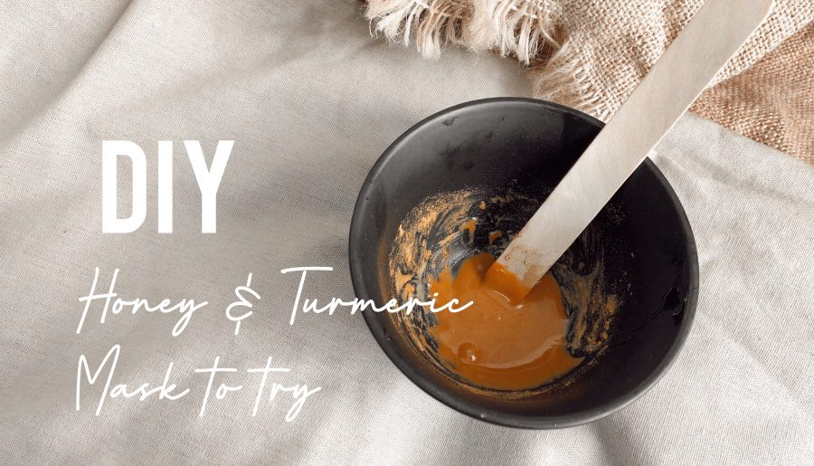 DIY Honey and Turmeric Mask to try